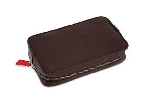 """Kabeltasche, Zubehörtasche """"Longford"""" aus Leder für Kabel, Magic Maus, USB, SD Karten - Pack & Smooch"""