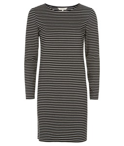 Malena Stripe Dress Black - People Tree