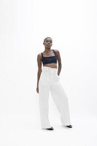 Florence FLR - Long High-Waisted Pants - Organic Cotton - 1 People