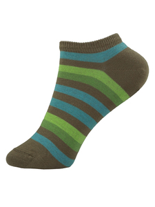 Grödo Kinder Ringel Füsslinge/Sneaker Socken Bio-Baumwolle - grödo
