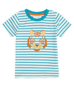 Baby u. Kinder T-Shirt blau geringelt Biologisch Sense Organics - sense-organics