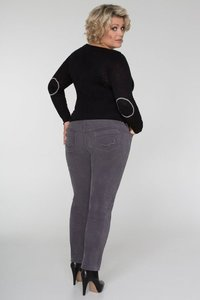 Venus-Jeans CORD * grey - Pearls of Laja