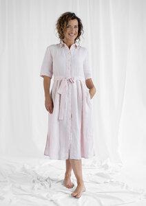 Dress Marie, Quarz - Damenkleid aus Bio-Baumwolle - Sophia Schneider-Esleben