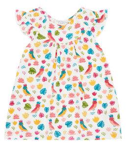 Mädchen Sommerkleid weiß gemustert Biologisch Sense Organics - sense-organics