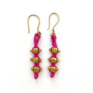 """Dokra Ohrringe """"pink stones"""" - KIKOONI"""