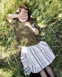 Rock aus Leinen für Kinder / Gaia Skirt - Matona