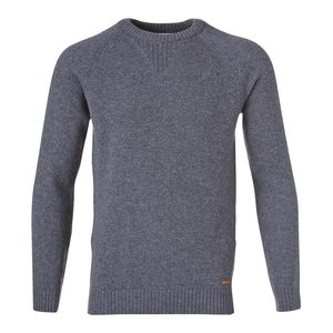 Single Knit - Pullover Grey Melange - KnowledgeCotton Apparel