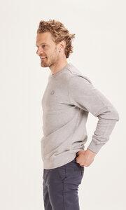 Sweatshirt - ELM basic badge sweat - aus Bio-Baumwolle  - KnowledgeCotton Apparel