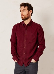 Wattle Jay Shirt Burgundy - Thought | Braintree