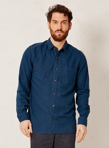 Wattle Jay Shirt Blue - Thought | Braintree