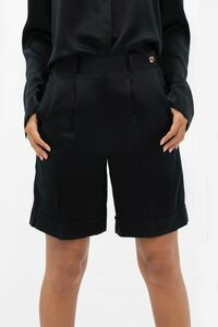 Manila MNL - Taillierte Shorts aus Seide - 1 People