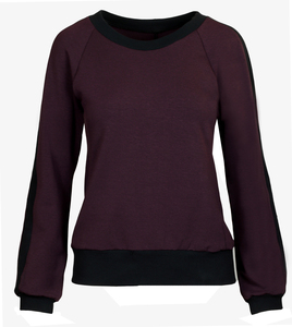 Sweatshirt aus Tencel und Bio Baumwolle - Lasalina - LASALINA