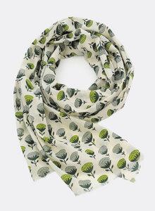 Schal aus Bio Baumwolle – Hortensie 3230 - Djian Collection