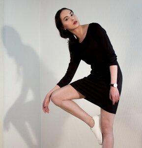 Kleid SHOSHANNA black - JAN N JUNE