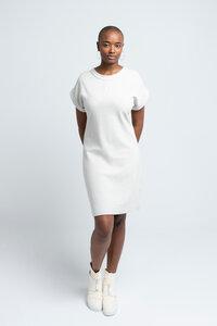 CAMILLE - Damen Kleid in Rippoptik aus Bio-Baumwolle - SHIPSHEIP