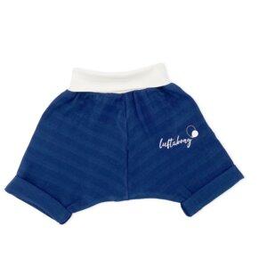 BIO Shorts Musselin DEEP NAVY - luftabong