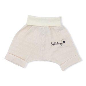 BIO Shorts Musselin NATURE - luftabong
