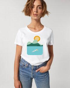 GOTS Aufdruck - Reine Bio Baumwolle - Basic T-Shirt / GOTS Aufdruck- Time for me - Kultgut