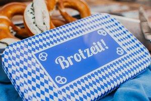 Lunchbox XL Bavaria Brotzeit, Brotdose, Vesperdose - tindobo
