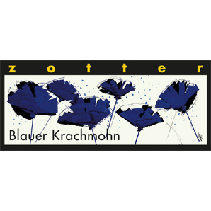 Blauer Krach Mohn - Zotter