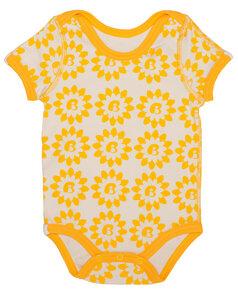 Baby Kurzarmbody 'Sunflower' - Baby Paul's