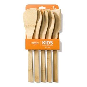 Kochlöffel-Set 'Kids in the Kitchen' - Bambu