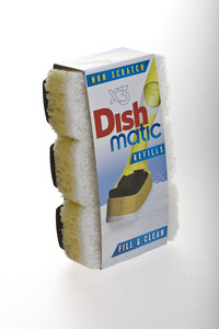 Nachfüllpack für Dishmatic Schwamm-Spülbürste - ecoForce