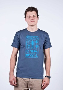 T-Shirt Men Ecosystem Charcoal - Fairliebt.