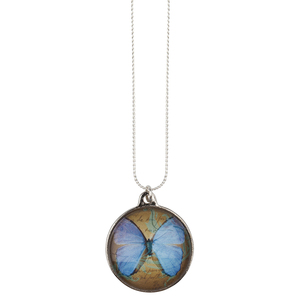 Blue Butterfly - The Pendant Warehouse
