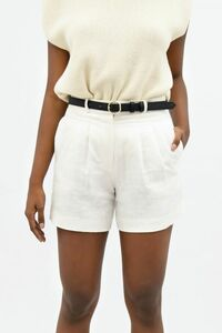 French Riviera NCE - Mom Shorts aus Leinen - 1 People