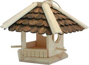 Vogelvilla - Vogelhaus aus massiver Fichte Größe: 30 x 22 cm - ReineNatur