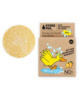 Festes 2in1 Shampoo & Dusche für Kids | Naturkosmetik | für alle Haar- und Hauttypen - HYDROPHIL