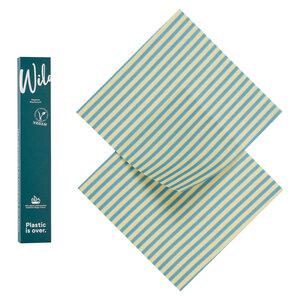 Veganes Wachstuch 2er Set Medium - Wildwax Tuch