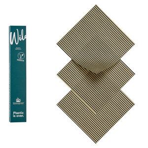 Veganes Wachstuch 3er Set Small - Wildwax Tuch