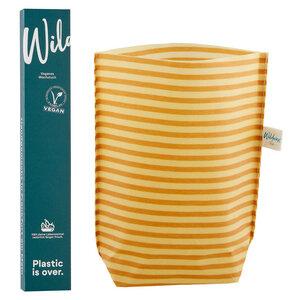 Veganer Wachstuch Beutel klein - Wildwax