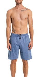 Herren Bermuda mit Seitentaschen, Single Jersey, reine Baumwolle - Haasis Bodywear