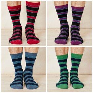 4er Pack Bambus Socken Walba - Braintree