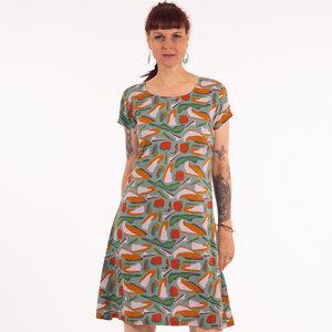 "Damen Kleid aus Lenzing Ecovero Viskose ""Dobrila"" - Chapati Design"