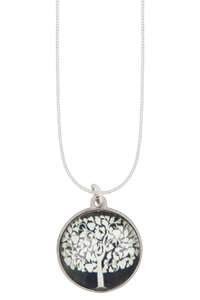 Tree in green (50 cm Kette) - The Pendant Warehouse