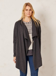 Hip Zip Throw Charcoal - Thought | Braintree