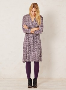 Yani Bea Dress Pflaume - Braintree