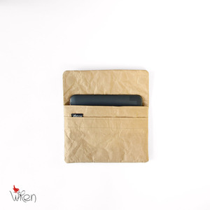 Natural Paper iPad Mini sleeve or clutch - The Wren Design