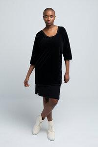 HELEN - Damen Kleid in Samt-Optik aus Bio-Baumwolle - SHIPSHEIP
