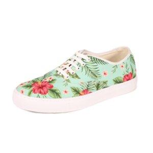 Fairticken Nisa Sneaker (Flowerprint, SEAQUAL ® YARN) - Fairticken