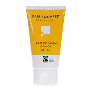 Fair Squared Facial Suncream 50ml (Olive Oil & Apricot) - Fair Squared
