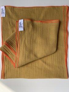 BeachRebelle Tuch aus Bio Baumwolle mit Neon Kontrastnaht - BeachRebelle