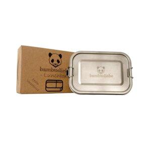 Edelstahl Lunchbox 800ml - bambusliebe