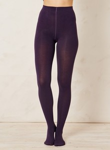 Full Bamboo Tights Purple - Strumpfhose - Thought | Braintree