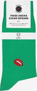 Socken mit Stickerei - A-Dam