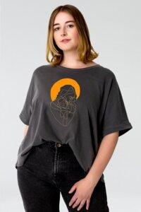 GOTS Aufdruck - Mother/ Reine Bio-Baumwolle - Vintageshirt fürs ganze Jahr - Kultgut